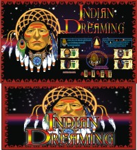 Indian dreaming Pokie by Aristocrat Paytable and prizes