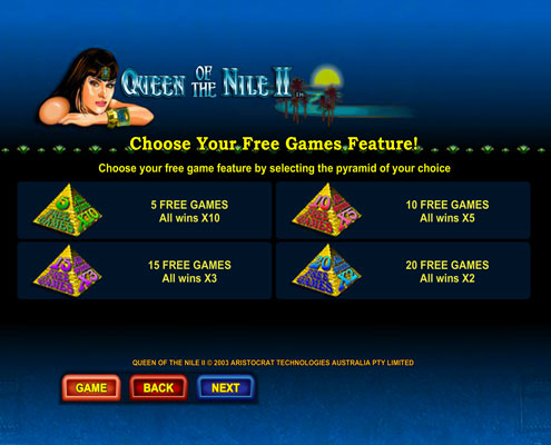 queen of the nile free pokies - 2