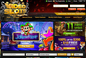 free slots online for fun videoslots