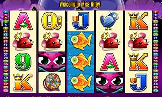 aristocrat gaming miss kitty slot game